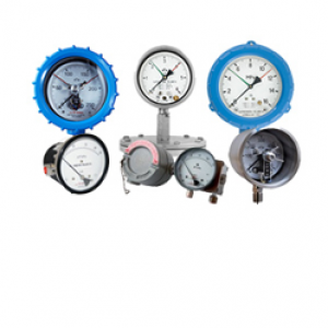 Explosion-proof electrical contact pressure gauges