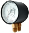Spring-Diaphragm gauge for differential pressure