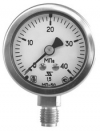 Corrosion-resistant pressure gauges Ø 40, 50, 63мм (Crimped ring)